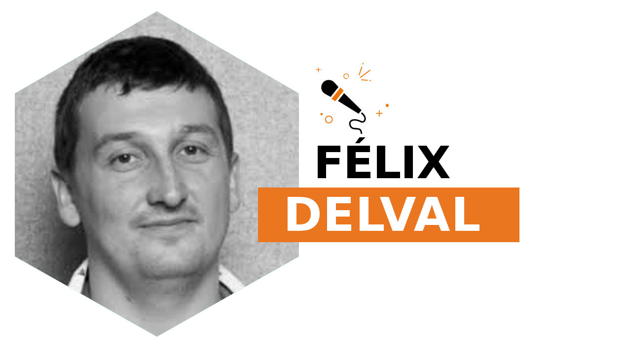 Headshot of Félix Delval