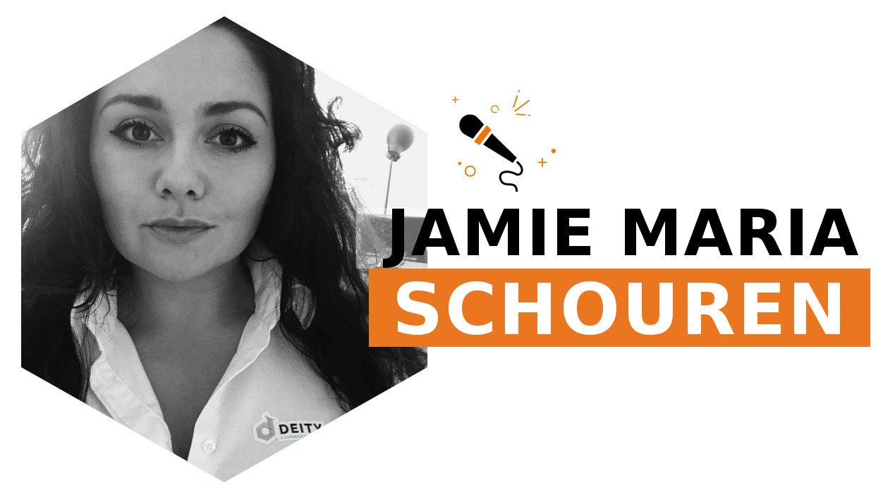 Jamie Maria Schouren, our second speaker for 2018 edition