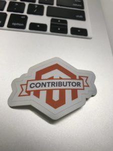 Magento Contributor Sticker