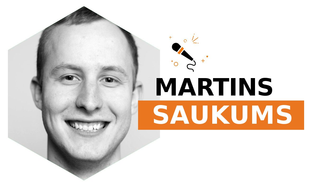 Last but not least, Martins Saukumus completes this year lineup