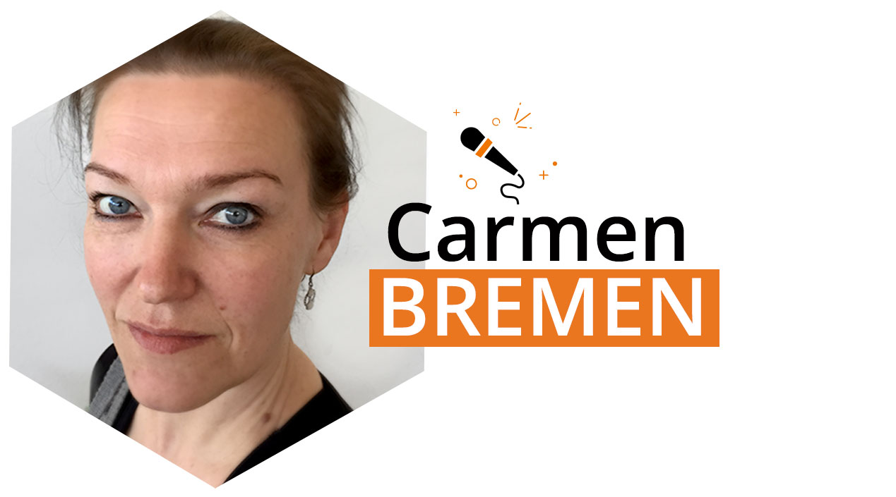 Our second speaker is here: Carmen Bremen Magento Master 2017